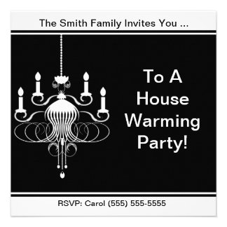 A House Warming Party Invite