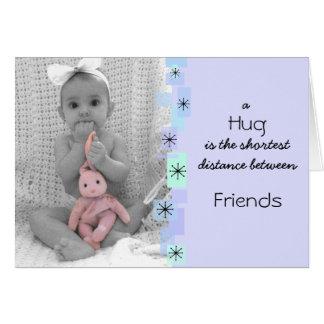 A Hug Birthday Card