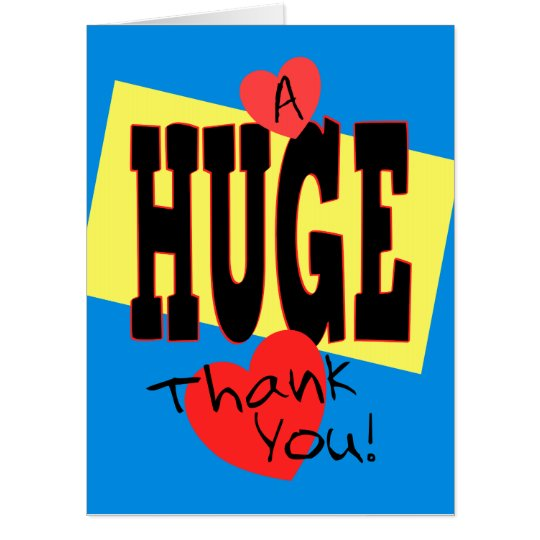 Image result for huge thank you