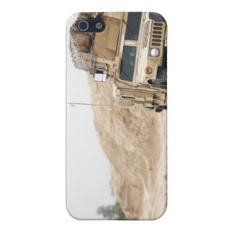 A Humvee conducts security Case For iPhone SE/5/5s