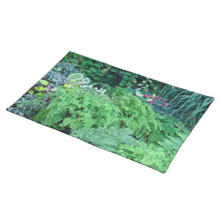 A Hundred Shades of Green-Green is Beautiful Cloth Placemat
