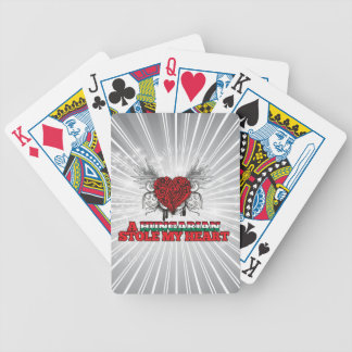 A Hungarian Stole my Heart Bicycle Playing Cards
