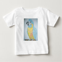 A hungry baby Macaw Parrot Baby T-Shirt