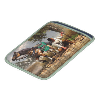 A Hunter and His Horse iPad Sleeves