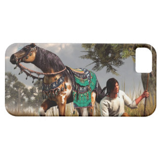 A Hunter and His Horse iPhone SE/5/5s Case