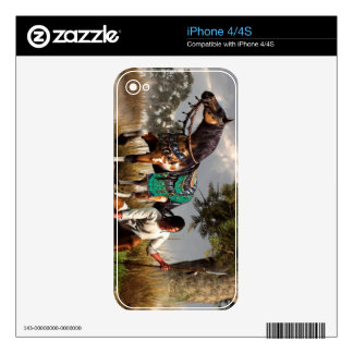 A Hunter and His Horse Skins For iPhone 4