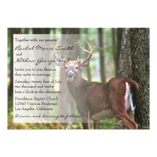 A Hunter s Wedding Invitation