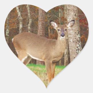 A Hunter's Dream Deer Heart Sticker