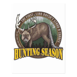 A Hunters Dream Postcard