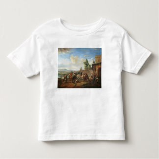 A Hunting Party by a Country House (oil on canvas) Toddler T-shirt
