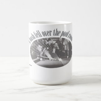 A hush fell over the pool room - mug