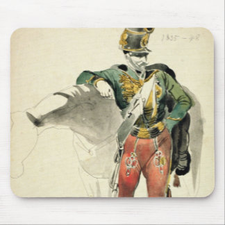 A Hussar of the 9th Regiment Mouse Pad
