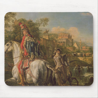 A Hussar on horseback, 1773 Mouse Pad