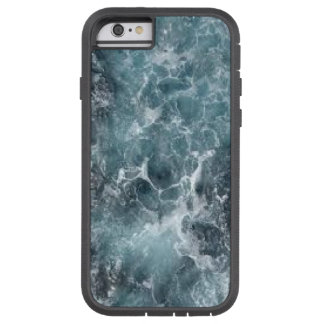 A I Phone case with foaming waves.