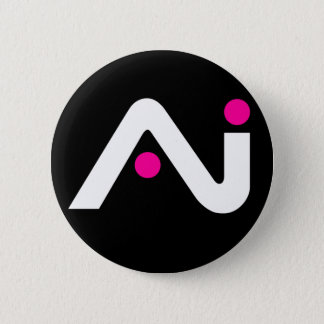 A.i. Retro Button White Logo