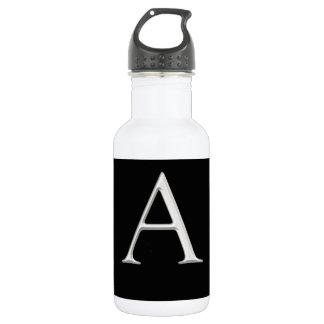 """A"" Initial Custom Design 18oz Water Bottle"