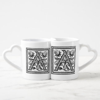 A Initial from A Monk of Fife Coffee Mug Set