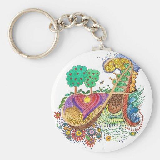 A, initial, monogram, wedding basic round button keychain