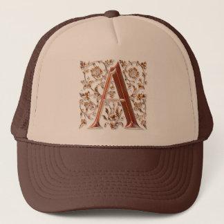A Initial Personalised Monogram Fashion Cap