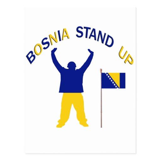 A Inspirational Bosnia Stand up Post Card