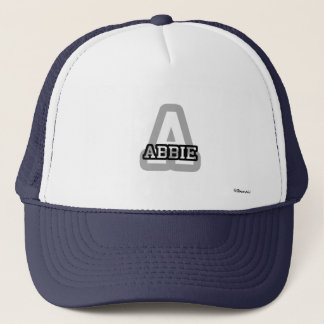 A is for Abbie Trucker Hat