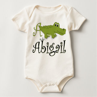 A is for Abigail, Baby Gator Tee