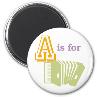 A is for Accordion Magnet