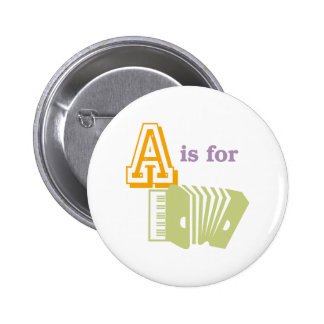 A is for Accordion Pin