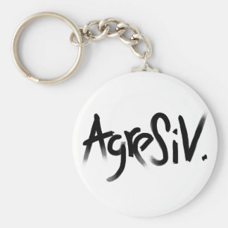A is for Aggressive Collection Keychains