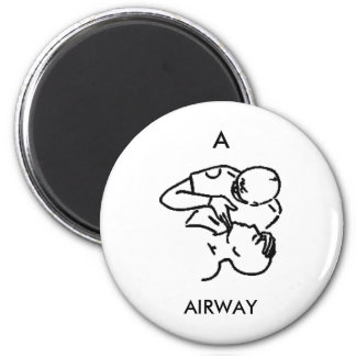 A is for AIRWAY - magnet