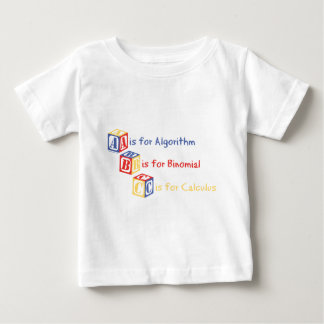 A is for Algorithm Tee Shirt