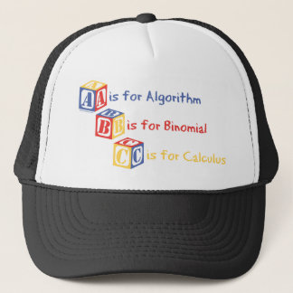 A is for Algorithm Trucker Hat