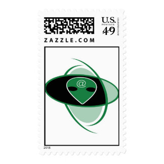 A is for Alien Postage Stamps