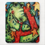 A is for Alligator Mouse Pad