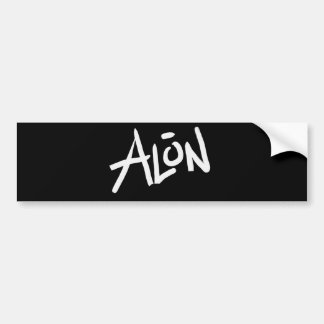 A is for ALONE: Designs from the I Am A ..Shop. Bumper Sticker