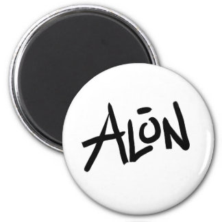 A is for ALONE: Designs from the I Am A ..Shop. Magnet