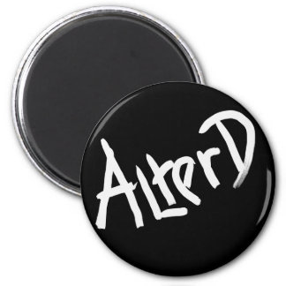 A is for ALTERED: Designs from the I Am A ..Shop. 2 Inch Round Magnet