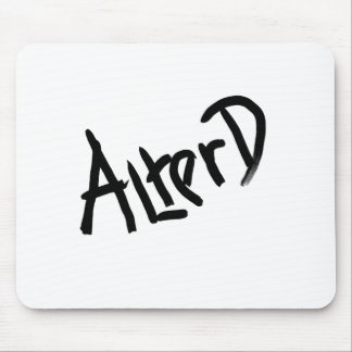 A is for ALTERED: Designs from the I Am A ..Shop. Mouse Pads