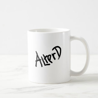 A is for ALTERED: Designs from the I Am A ..Shop. Classic White Coffee Mug