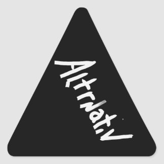 A is for ALTERNATIVE from the I Am A Shop Stickers