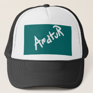 A is for AMATEUR: Designs from the I Am A ..Shop. Trucker Hat