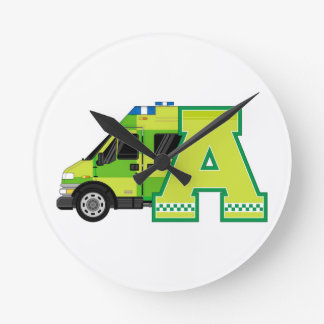 A is for Ambulance Clock