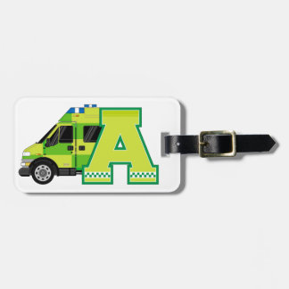 A is for Ambulance Tag For Bags