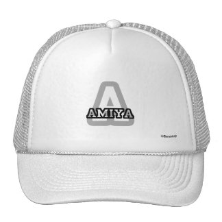 A is for Amiya Trucker Hat