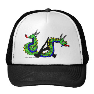 A is for Amphisbaena Mesh Hat