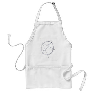 a is for anarchy adult apron