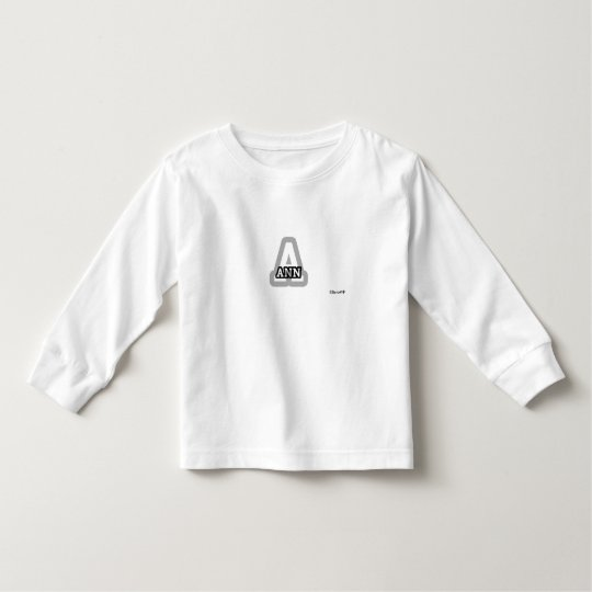 A is for Ann Toddler T-shirt