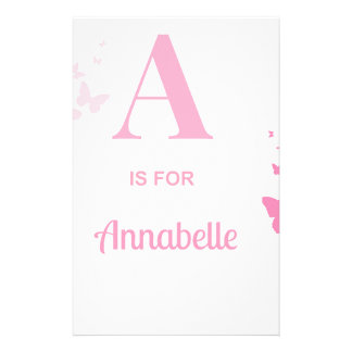 A is for Annabelle Stationery
