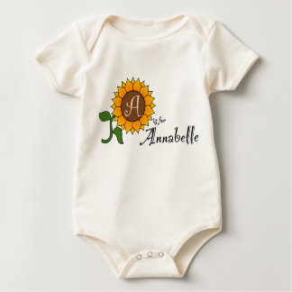 A is for Annabelle Sunflower T Shirt