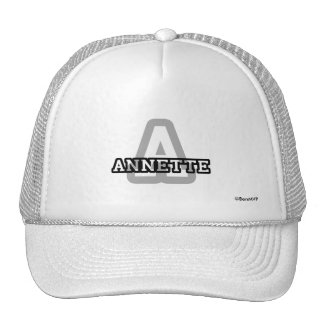 A is for Annette Trucker Hat